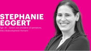 40 Under 40: Stephanie Eggert, Hilco Redevelopment Partners