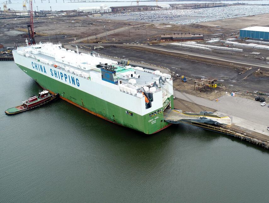 Tradepoint Marine Roro Ship